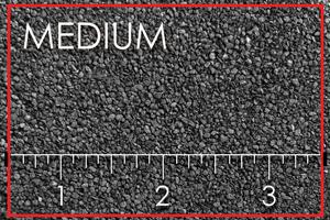 image of medium blast media
